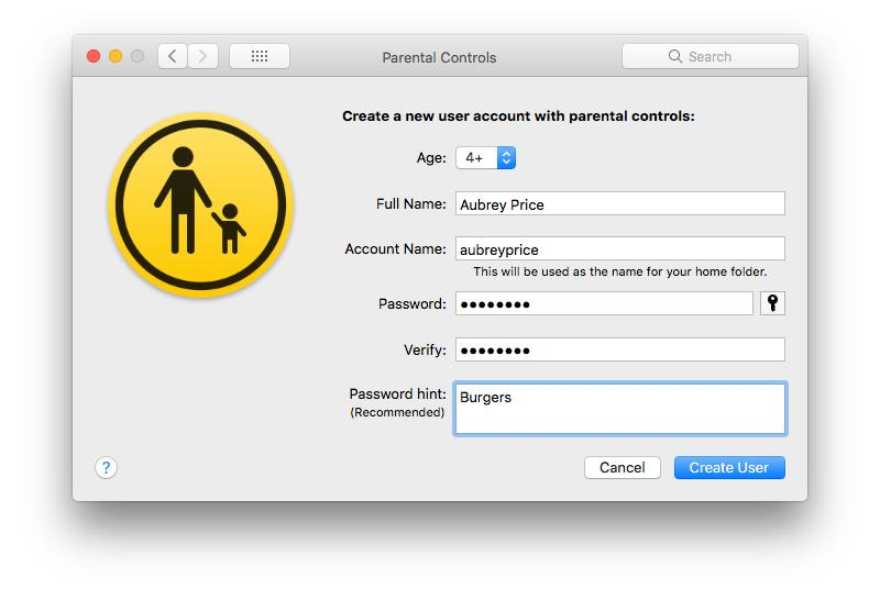 mac-parental-control-account