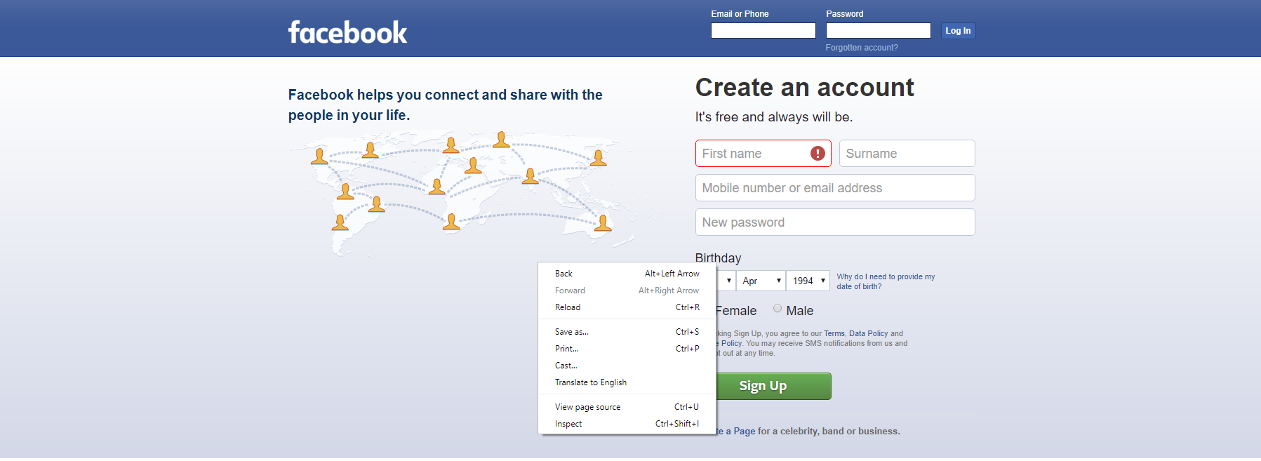 right-click-facebook-login-page