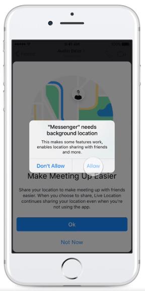 permitir-fondo-ubicación-messenger