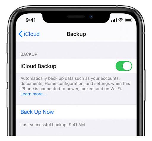 enable-icloud-backup